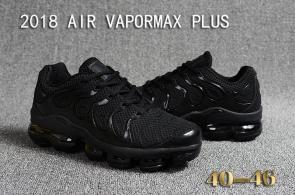 air vapormax plus baskets basses tn black